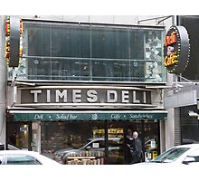Times Deli NYC Photographic Print