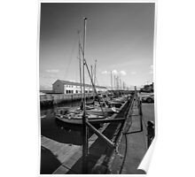 Lossiemouth Harbour Poster