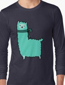 Bow Alpaca Long Sleeve T-Shirt