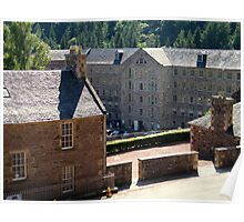 New Lanark Mill, Scotland Poster