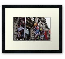 Where is NI ? Framed Print