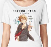Shusei Kagari Psycho Pass  Women's Relaxed Fit T-Shirt