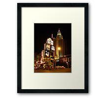 New York New York Framed Print