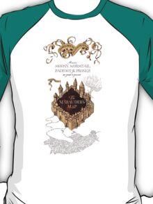 Marauders Map Harry Potter T-Shirt