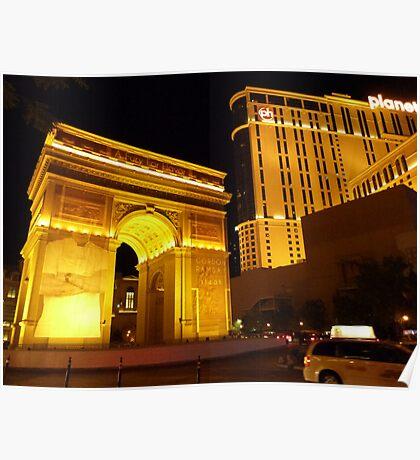 Paris Paris Las Vegas Poster