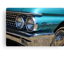 Chrome Bumpers 01 Canvas Print