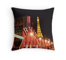 Ballys Las Vegas Throw Pillow
