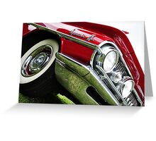 Chrome Bumpers 03 Greeting Card