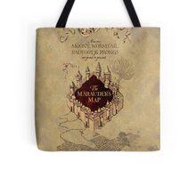 Marauders Map Harry Potter Tote Bag