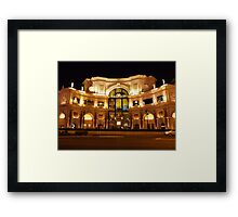 Forum Shops Framed Print