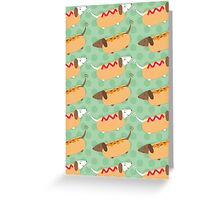 Little Sausages  Greeting Card