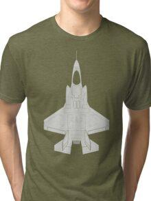 Lockheed F-35B Lightning II (Light) Tri-blend T-Shirt