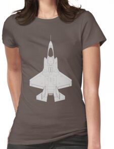 Lockheed F-35B Lightning II (Light) Womens Fitted T-Shirt