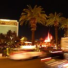 Vegas, The Strip, at Night by FangFeatures