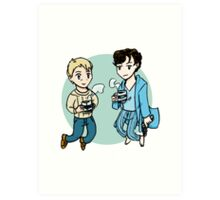 Boys from 221B Art Print