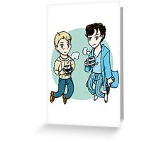 Boys from 221B Greeting Card