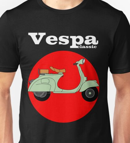 Classic scooters Unisex T-Shirt