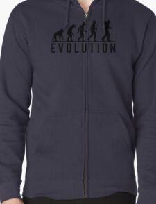 Funny Evolution of Hiking T-Shirt