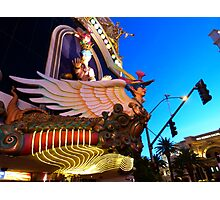 Harrahs Vegas Photographic Print