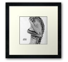 Skin & Bone Framed Print