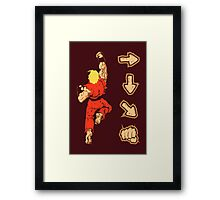Know your Fighting Skills v2.0 Framed Print