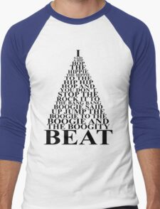 Hippity Hop Men's Baseball ¾ T-Shirt