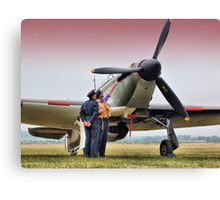 Hurricane - Duxford Flying Legends 2013 Canvas Print