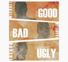 Good Bad and Ugly - Texture Silhouette by Adam Angold