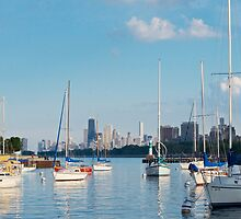 Montrose Harbor by zl-photography