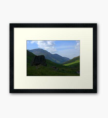Honister Pass, Lake District National Park Framed Print