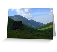 Honister Pass, Lake District National Park Greeting Card