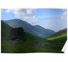 Honister Pass, Lake District National Park Poster