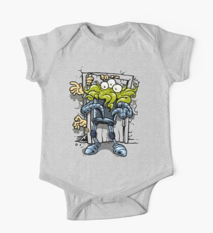 monsters at the door Kids Clothes