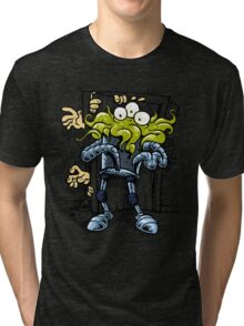 monsters at the door Tri-blend T-Shirt