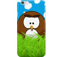Cute cartoon bird iPhone Case/Skin