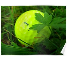 Golf Ball No. 1 Poster