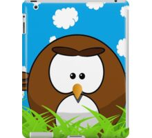 Cute cartoon bird iPad Case/Skin