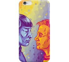 Kirk and Spock iPhone Case/Skin