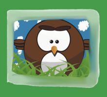 Cute cartoon bird Baby Tee
