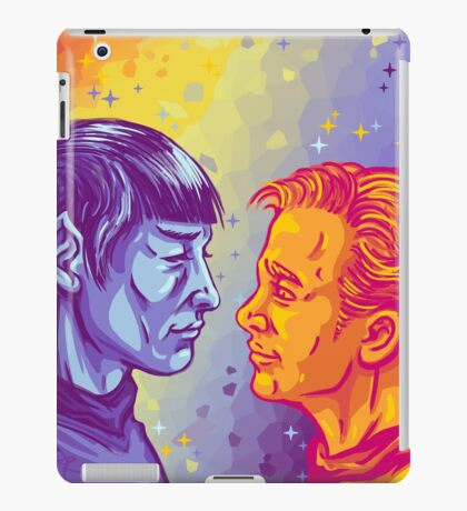 Kirk and Spock iPad Case/Skin