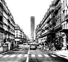 Paris Tour Montparnasse Vintage by Grimm Land