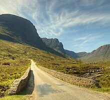A Highland Road by Jamie  Green