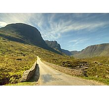 A Highland Road Photographic Print