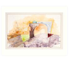 Oxford Arches Study Art Print