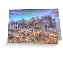Old Reliable  #3 - Hill End NSW - The HDR Experience Greeting Card
