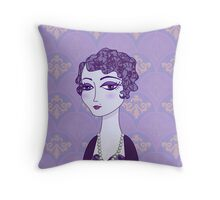 Lady Violet Throw Pillow