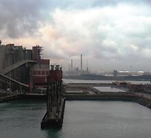 industrial harbour I, rotterdam. by zenitt