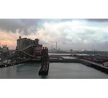 industrial harbour I, rotterdam. Photographic Print