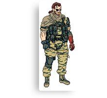 Venom Pixel Canvas Print