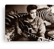 I'm Busy Elvis! Canvas Print
